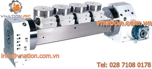 rotating tilting rotary table / for machining centers / motorized