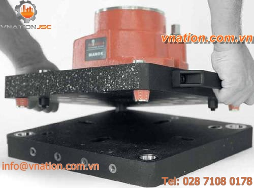 support plate zero-point clamping system