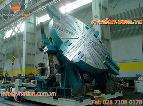 rotating tilting rotary table / for machining centers / CNC