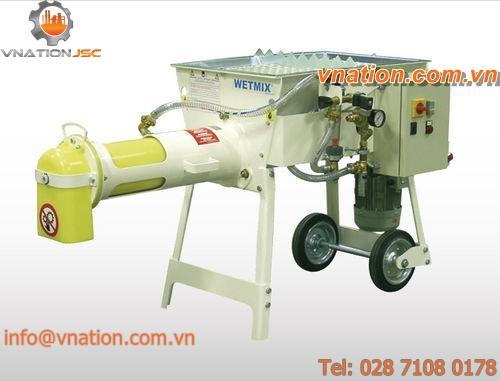 screw mixer / continuous / for mortar