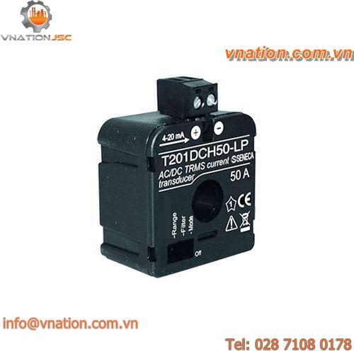 true RMS current sensor / DIN rail / precision