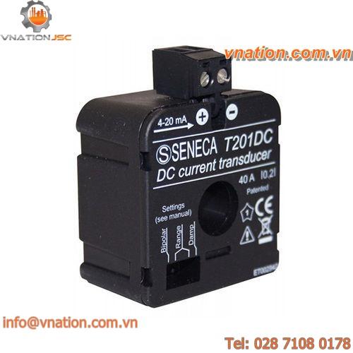 DC current transducer / DIN rail / voltage / power