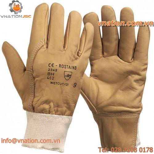 work glove / anti-cut / leather
