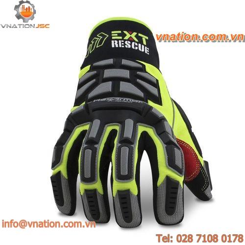 work glove / anti-cut / chemical protection / PVC