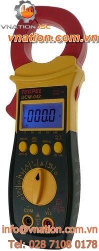 digital clamp ammeter / portable / AC / DC
