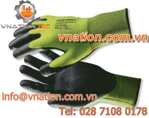 work glove / mechanical protection / synthetic