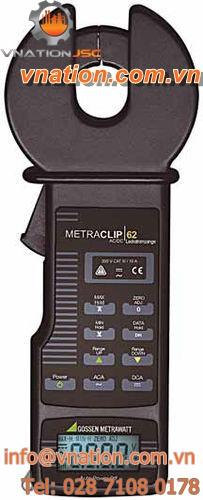 digital clamp ammeter / portable / true RMS / AC/DC