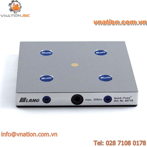 machine tool zero-point clamping system / modular clamping plate / mechanical