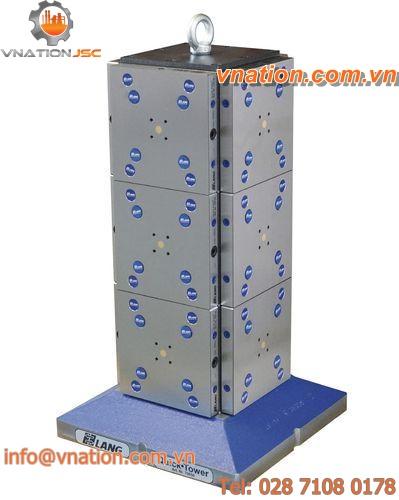 horizontal machining center zero-point clamping system / clamping tower / multi clamping system