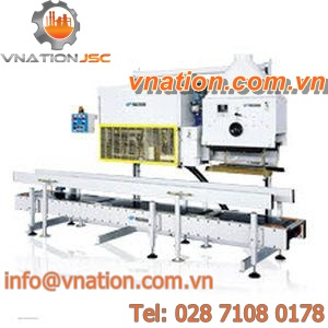 semi-automatic sewing and welding machine / for bags