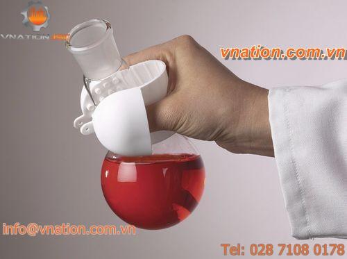 laboratory glove / heat-resistant / cold weather