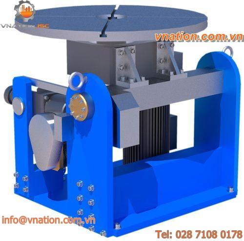 horizontal tilting rotary table / motorized