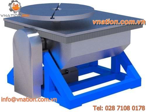 horizontal tilting rotary table / automatic / heavy-duty