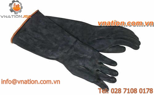 laboratory glove / chemical protection / synthetic fiber