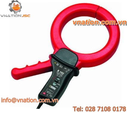 clamp ammeter without display / portable / current