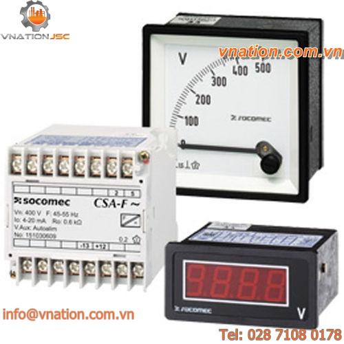 analog ammeter / AC / DC / digital