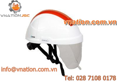 protection helmet / noise-reduction / with light / with face protection