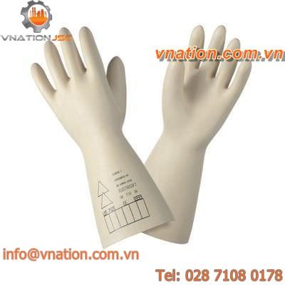 laboratory glove / insulated / latex