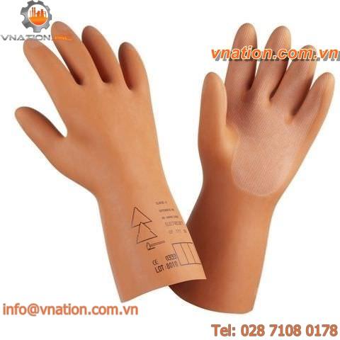 laboratory glove / insulated / mechanical protection / latex