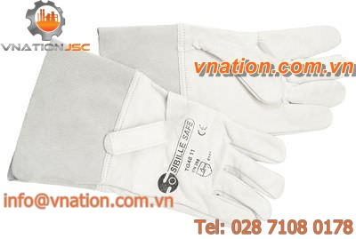 work glove / mechanical protection / leather