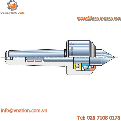 rotating lathe center / high-precision / high-speed / for lathes