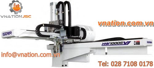 cartesian robot / 3-axis / handling / for injection molding machines