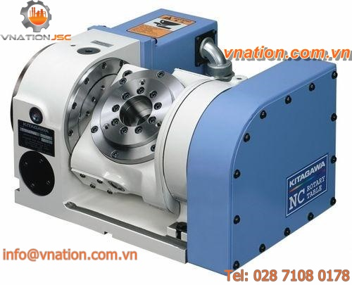 NC tilting rotary table / horizontal / for machining centers / motorized
