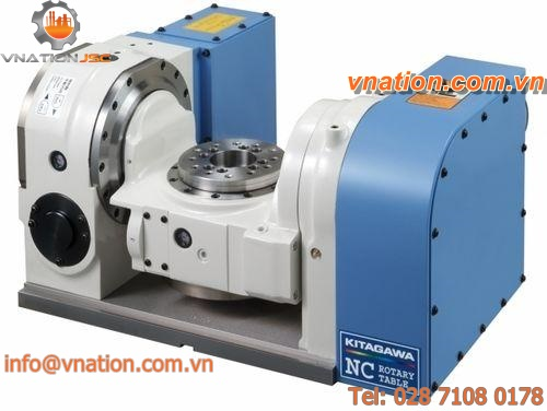 NC tilting rotary table / rotating / for machining centers / motorized