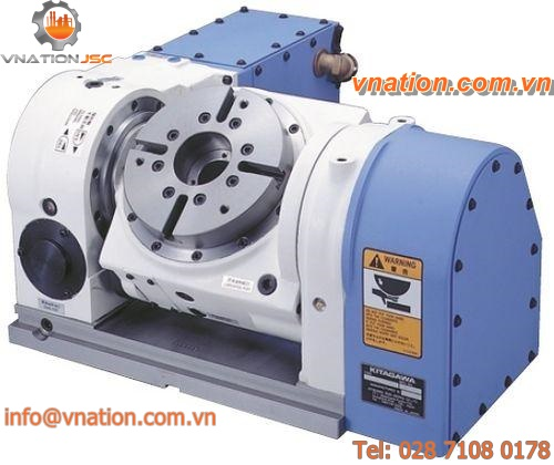 NC tilting rotary table / rotating / for machining centers / hydraulic